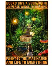 Librarian Books Give A Soul To The Universe 11x17 Poster front