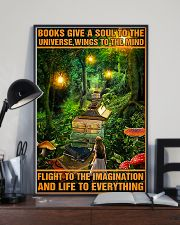 Librarian Books Give A Soul To The Universe 11x17 Poster lifestyle-poster-2