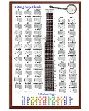 5 Stings Banjo Chords 11x17 Poster front