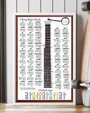 5 Stings Banjo Chords 11x17 Poster lifestyle-poster-4