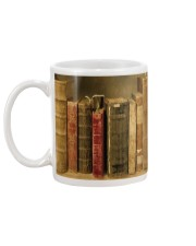 Librarian Old Books Mug back