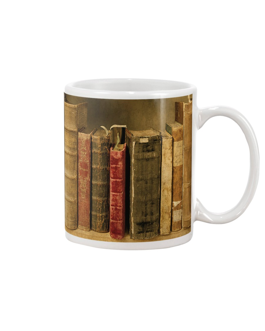 Librarian Old Books Mug