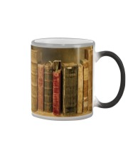 Librarian Old Books Color Changing Mug thumbnail