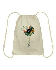 Phlebotomist Colorful Caduceus  Drawstring Bag thumbnail