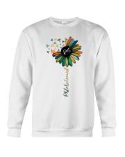 Phlebotomist Colorful Caduceus  Crewneck Sweatshirt thumbnail