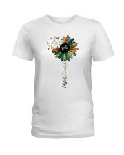 Phlebotomist Colorful Caduceus  Ladies T-Shirt front