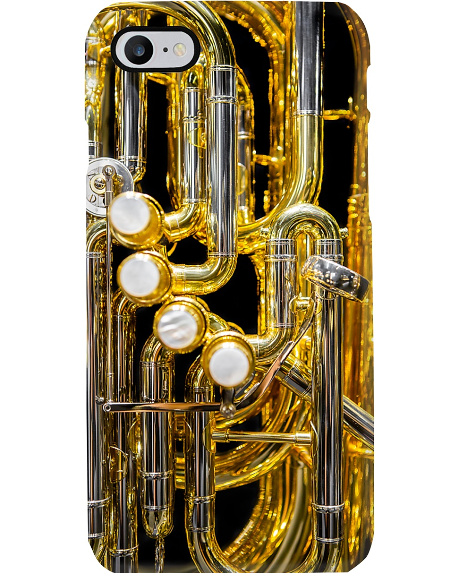Tubist Beautiful Tuba Phone Case