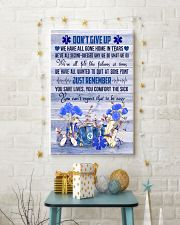 Paramedic Don't Give Up Just Remember 11x17 Poster lifestyle-holiday-poster-3