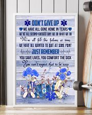 Paramedic Don't Give Up Just Remember 11x17 Poster lifestyle-poster-4