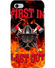 Firefighter First In Last Out Phone Case i-phone-7-case