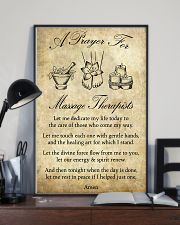 A Prayer For Massage Therapists 11x17 Poster lifestyle-poster-2