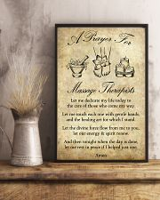 A Prayer For Massage Therapists 11x17 Poster lifestyle-poster-3