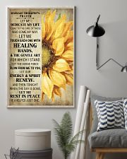 Massage Therapist's Prayer 24x36 Poster lifestyle-poster-1