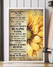 Massage Therapist's Prayer 24x36 Poster lifestyle-poster-4