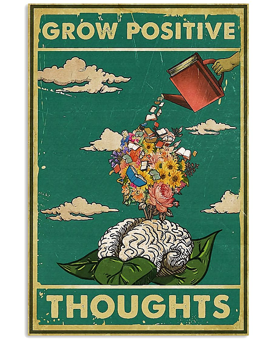 Social Worker Positive thoughts 11x17 Poster