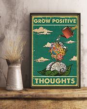 Social Worker Positive thoughts 11x17 Poster lifestyle-poster-3