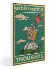 Social Worker Positive thoughts 20x30 Gallery Wrapped Canvas Prints thumbnail
