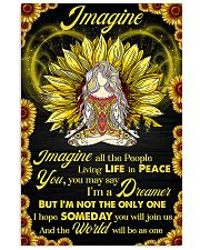 Yoga - Imagine All The People Living In Peace 11x17 Poster front