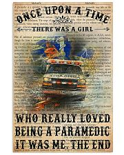 There Was A Girl Who Really Loved Being Paramedic 11x17 Poster front