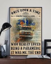 There Was A Girl Who Really Loved Being Paramedic 11x17 Poster lifestyle-poster-2