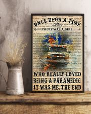 There Was A Girl Who Really Loved Being Paramedic 11x17 Poster lifestyle-poster-3