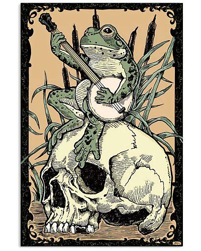 Banjo - Victorian Frog With Banjo