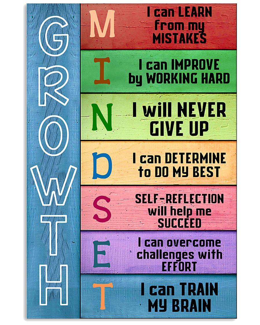 Growth Mindset Teacher  11x17 Poster