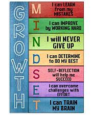 Growth Mindset Teacher  11x17 Poster front