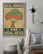 Social Workers For Social Justice 11x17 Poster lifestyle-poster-1