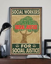 Social Workers For Social Justice 11x17 Poster lifestyle-poster-2