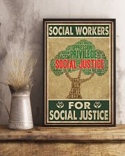 Social Workers For Social Justice 11x17 Poster lifestyle-poster-3