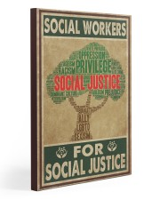 Social Workers For Social Justice 20x30 Gallery Wrapped Canvas Prints thumbnail