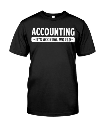 Accountant - It's accrual world