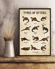 Otter Types 11x17 Poster lifestyle-poster-3