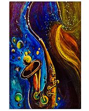 Saxophone Art  11x17 Poster front