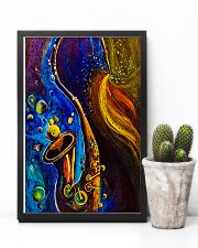 Saxophone Art  11x17 Poster lifestyle-poster-8