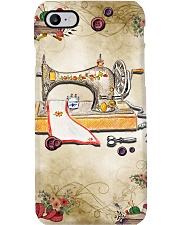 Sewer Colorful Vintage Sewing Machine Phone Case i-phone-7-case