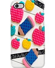 Teacher Icons Chocolate Cakes Phone Case i-phone-7-case