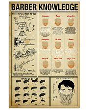 Hairdresser Barber Knowledge 11x17 Poster front