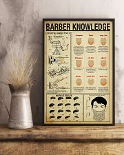 Hairdresser Barber Knowledge 11x17 Poster lifestyle-poster-3