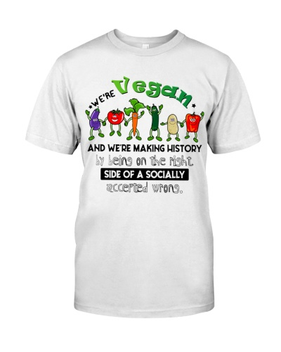 Vegan We're making history