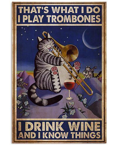 Trombone That's What I Do I Play Trombones