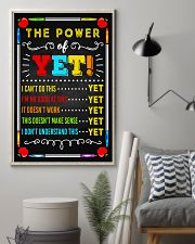 Teacher The Power Of Yet 11x17 Poster lifestyle-poster-1