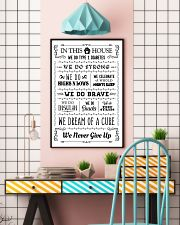 Diabetes In this house Poster 16x24 Poster lifestyle-poster-6