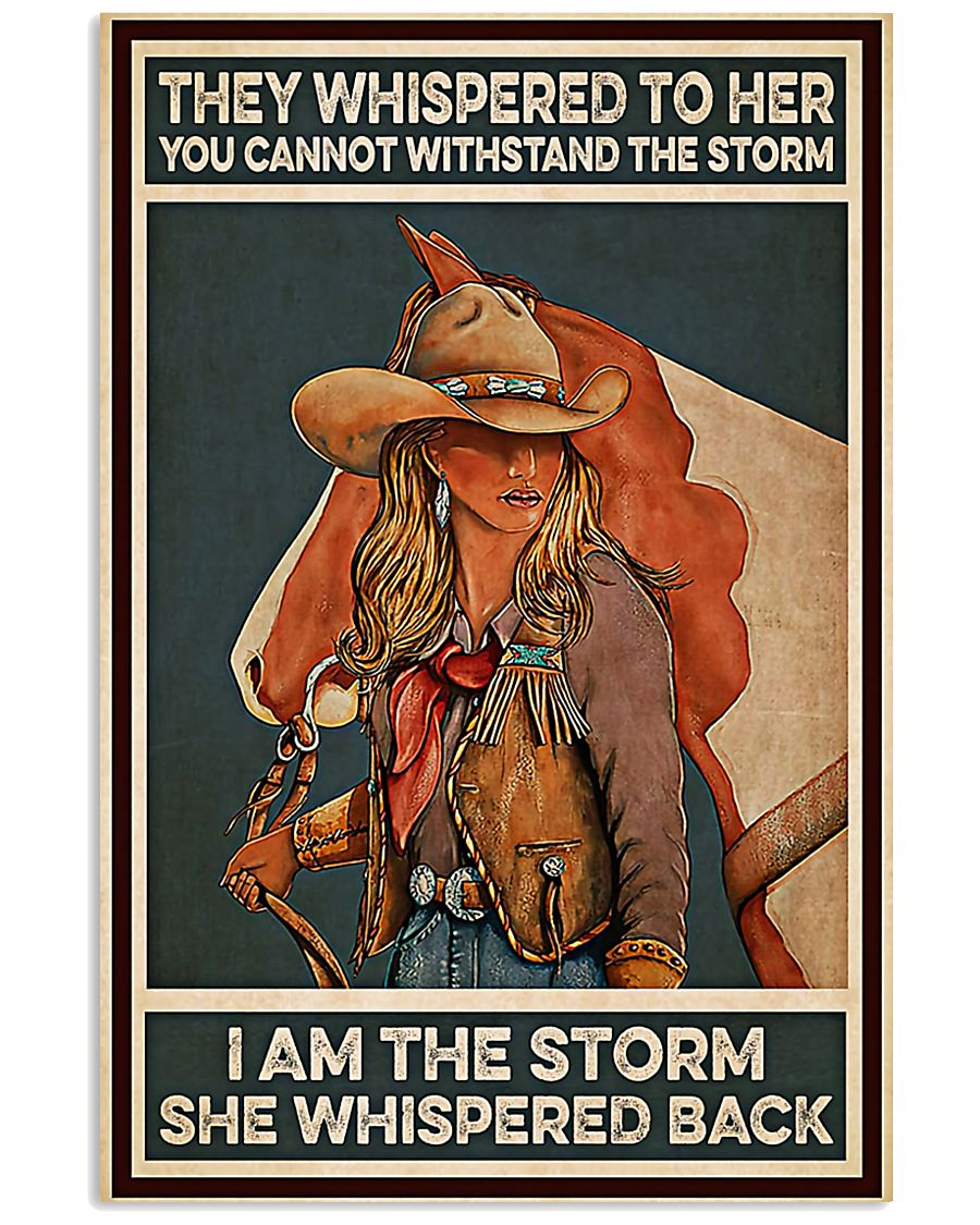 Horse Girl I Am The Storm 11x17 Poster
