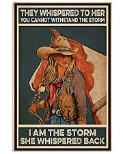 Horse Girl I Am The Storm 11x17 Poster front