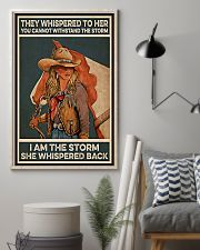Horse Girl I Am The Storm 11x17 Poster lifestyle-poster-1