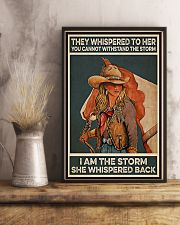 Horse Girl I Am The Storm 11x17 Poster lifestyle-poster-3