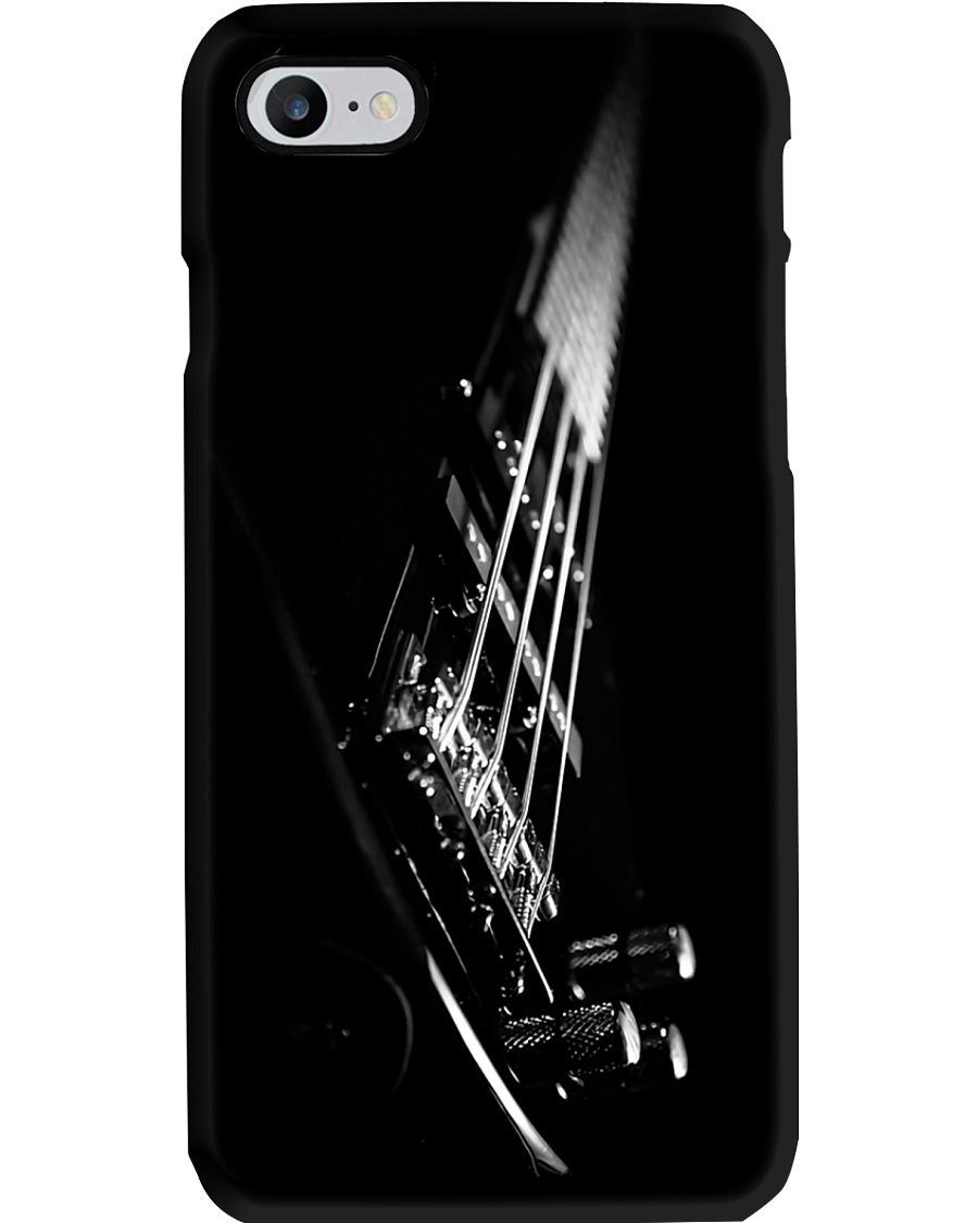 Bass Guitar On Black  Phone Case