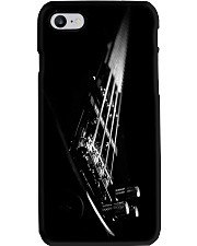 Bass Guitar On Black  Phone Case i-phone-7-case